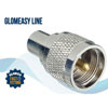 Glomex RA352 Glomeasy  Coaxial Cable Adapter Connector