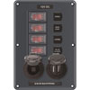 Blue Sea Water-Resistant DC Circuit Breaker Switch Panel (4321)
