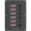 Blue Sea Water-Resistant DC Circuit Breaker Switch Panel (4322)