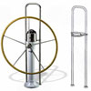 "Edson Straight Pedestal Guard Kit - 58"" High"