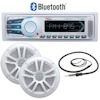 Boss Audio Systems Multimedia Bluetooth Marine Stereo System with Speakers