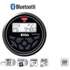 Boss Audio Systems Compact Waterproof AM/FM Bluetooth Marine Stereo Receiver