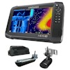 Lowrance HDS-9 Carbon Multifunction Display 3D Bundle with Transducers