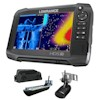 Lowrance HDS-7 Carbon Multifunction Display 3D Bundle with Transducers