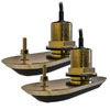 Raymarine RV-220 Bronze Through Hull Transducer Pack