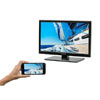 "Majestic 18.5"" Ultra-Slim HD LED TV with DVD Player"