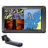 Lowrance HDS-16 Carbon Multifunction Display with TotalScan Transducer