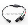 Raymarine Hypervision Thru-hull Transducer Y-Cable Splitter A80605
