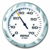SeaStar Solutions Lido Series 7000 RPM Tachometer