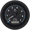 SeaStar Solutions Eclipse Series 7000 RPM Tachometer with Hourmeter