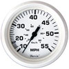 Faria Dress White 55 MPH Speedometer