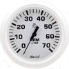 Faria Dress White 7000 RPM Tachometer