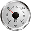 VDO Marine Viewline Sterling Water Pressure Gauge