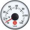 VDO Marine Viewline Ivory Outside Temperature Gauge