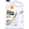 Shell Rotella T1 - Straight Grade 40W Heavy Duty Diesel Engine Oil - Gallon