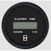 Faria Euro Black SS Digital Hourmeter