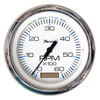 Faria Chesapeake White SS 6000 RPM Tachometer with Hourmeter