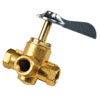 Whitecap Fuel Shut-Off Valve - 4-Way 1/4