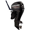 Mercury 40 HP 4-Stroke Outboard Motor (40MLHGA Thumb Screw Clamp Bracket)
