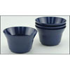 Gallyware 1407 Non-Skid Nesting Soup Bowls - Solid Blue