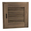 SeaTeak Louvered Door and Frame