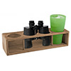 SeaTeak Four Drink Holder Rack