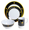 Galleyware Melamine Dinnerware Set - Commodore