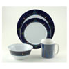Galleyware Melamine Dinnerware Set - Blue Compass