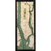 Wood Chart Manhattan / Long Island NY - Internet Orders Only