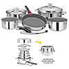 Magma 10 Piece Nesting Cookware Set with Ceramica Non-Stick