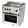 Force 10 3-Burner European Sub Compact Propane Gas Stove With Oven