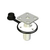 Magma BBQ Grill Single Locking Flush Deck Socket Mount