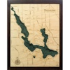 Wood Chart Walloon Lake - Internet Orders Only