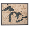 Wood Chart Great Lakes 16 x 20