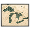 Wood Chart Great Lakes 24.5 x 31