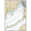 Maptech Decorative Nautical Charts - Buzzards Bay