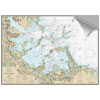 Maptech Decorative Nautical Charts - Boston Outer Harbor