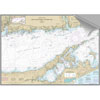 Maptech Decorative Nautical Charts - Eastern Long Island Sound