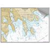 Maptech Decorative Nautical Charts - New Bedford, Fairhaven, Mattapoisett