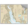 Maptech Decorative Nautical Charts - Providence River