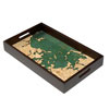 Wood Chart Boston Harbor Serving Tray