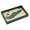Wood Chart Lake Erie Serving Tray