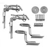 "Weaver Snap Davit Kit with 4"" Raised Swim Platform Hooks"