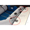 Weaver Snap Davit System for Inflatable Boats