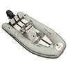AB Alumina 11 ALX Rigid Hull Inflatable (RIB) with Yamaha F20 4-Stroke