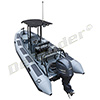 Zodiac Defender Pro Patrol 650DP with T-Top / Yamaha F150 EFI 4-Stroke