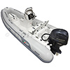 AB Oceanus 14 VST Rigid Hull Inflatable (RIB) with Yamaha F60 EFI 4-Stroke