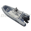 AB Oceanus 15 VST Rigid Hull Inflatable (RIB) with Yamaha F60 EFI 4-Stroke