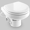 Dometic MasterFlush 7160 Electric Macerating Toilet, Orbit Base - Raw Water
