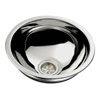 Ambassador S24-1400-UM-R Marine Ultra-Mirror Finish Half Sphere Sink